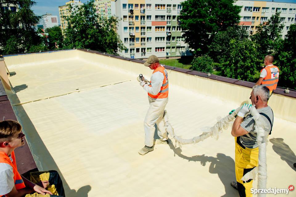 Ocieplenie dachu płaskiego Smart Budownictwo Lubin usługi budowlane