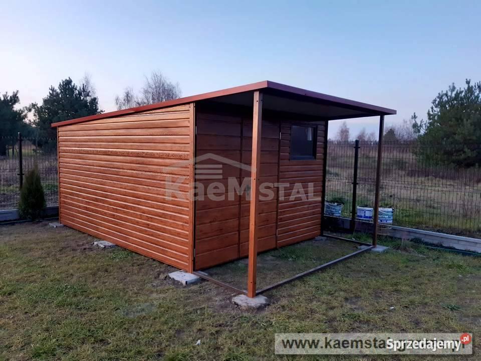 Schowek ogrodowy domek narzędziowy 3x3 - garaż blaszany