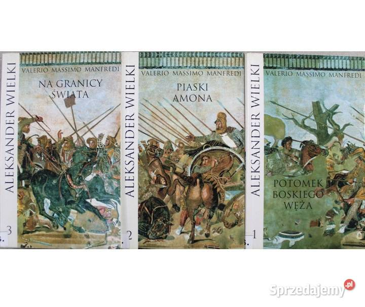 Aleksander Wielki T. 1-3 Manfredi