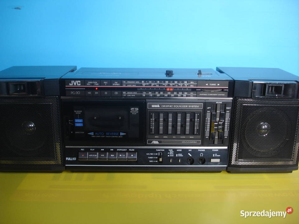 Radiomagnetofon JVC PC-30V