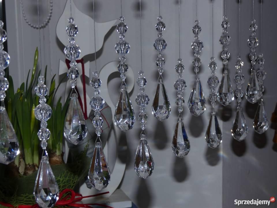 Kryształki Na Okno 100 Cm Makarony Firana Wzór łezka Nr 2