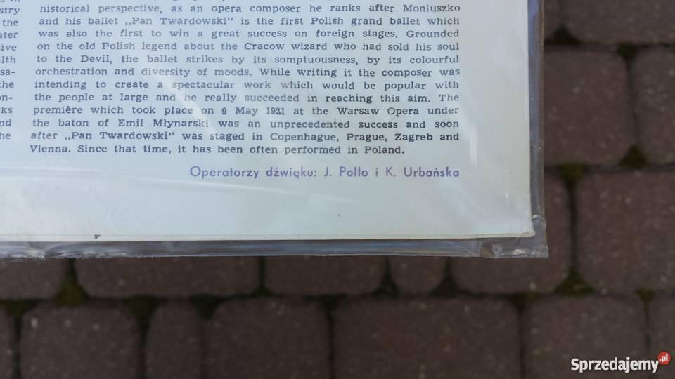Nowa Płyta winylowa RóżyckiPan Twardowski Warszawa