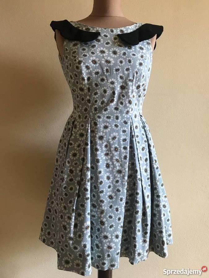 800fb88dd8 SIMPLE CP retro rozkloszowana sukienka suknia r mazowieckie sprzedam