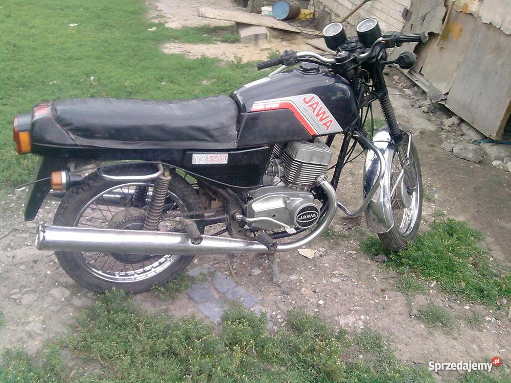 Jawa 350 ts Stary Bostów