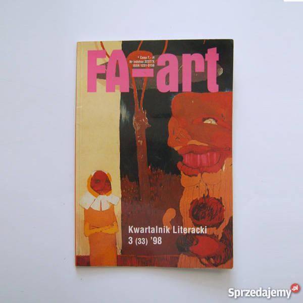 Faart kwartalnik literacki z 1998 roku numer 3 kwartalnik Katowice