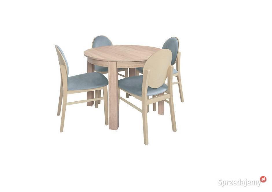 Stół okrągły rozkładany Bernardin