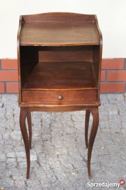 Drewniana komódka szafeczka stolik nocny styl Pozostałe