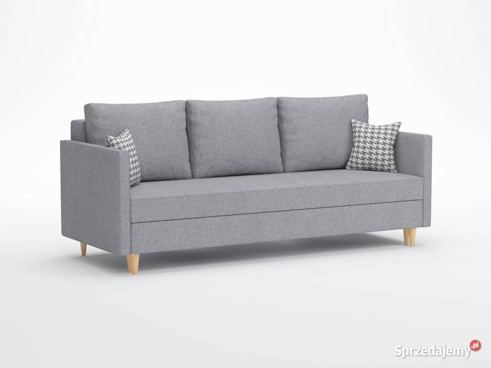 Kanapa sofa HAMAR rozkładana 3osobowa DARMOWA DOSTAWA