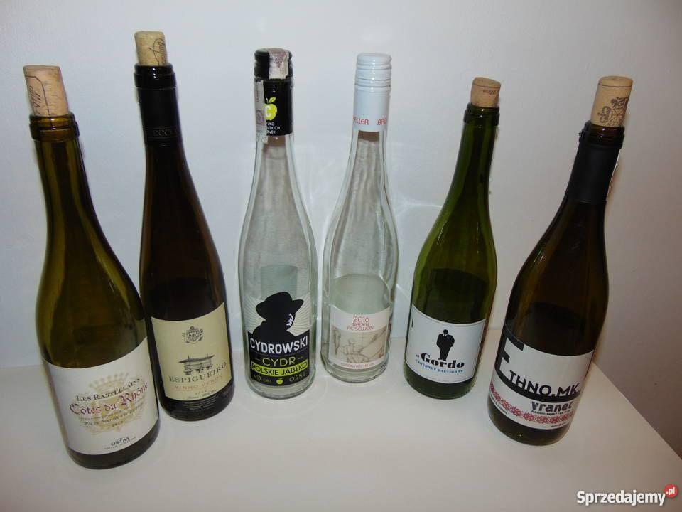 butelka butelki na wino 075L lubelskie Lublin