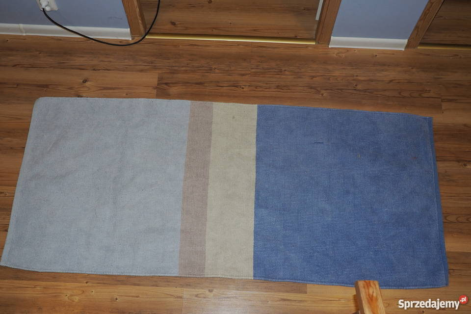 Dywan Bawełniany Ikea Niebiesko Błękitny