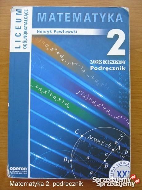 pawłowski matematyka podręcznik