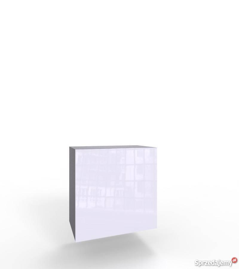 VIGO KWADRAT - czarno biała szafka wisząca