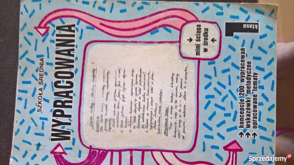 Dwudziestol miedzywojLiteratura kompendium, repetytorium, opracowanie Podręczniki