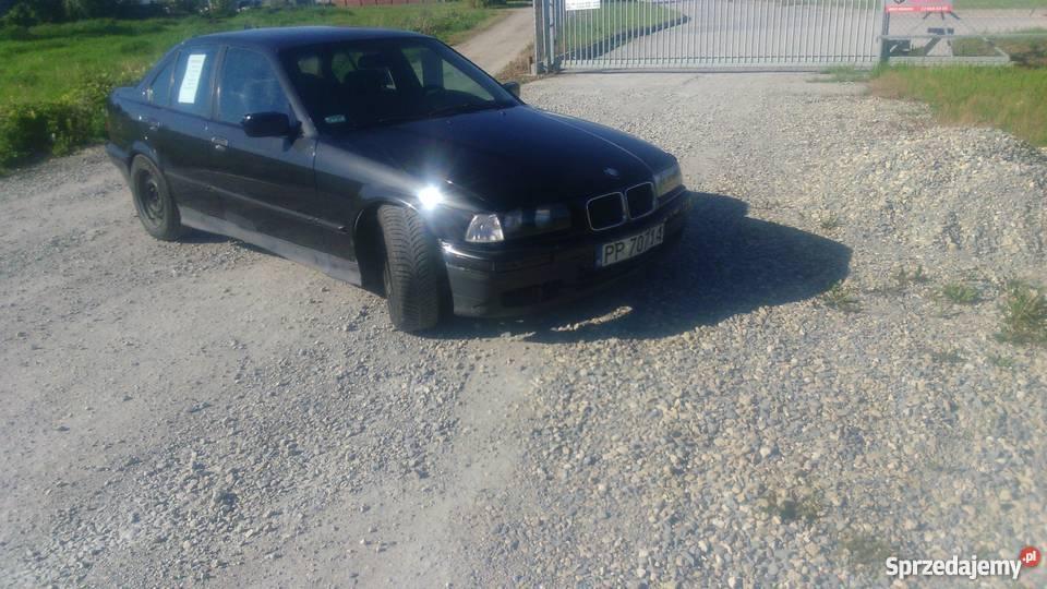 Modernistyczne BMW E36 2.5 TURBO DIESEL. Szeroka stal Błonie - Sprzedajemy.pl QC44