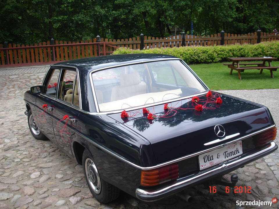 Klasykiem do ślubu auto z filmu Hans Kloss Warszawa
