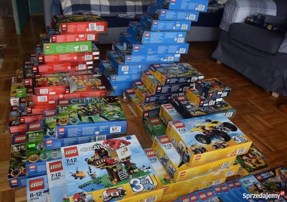 Lego Pudełka Instrukcje 11kg Chima Ninjago Nexo City łódź