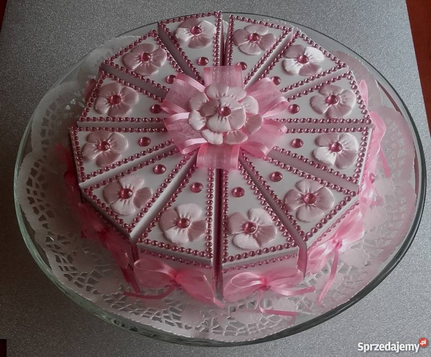 Podziękowania Dla Gości Chrzest Roczek Komunia Urodziny Tort