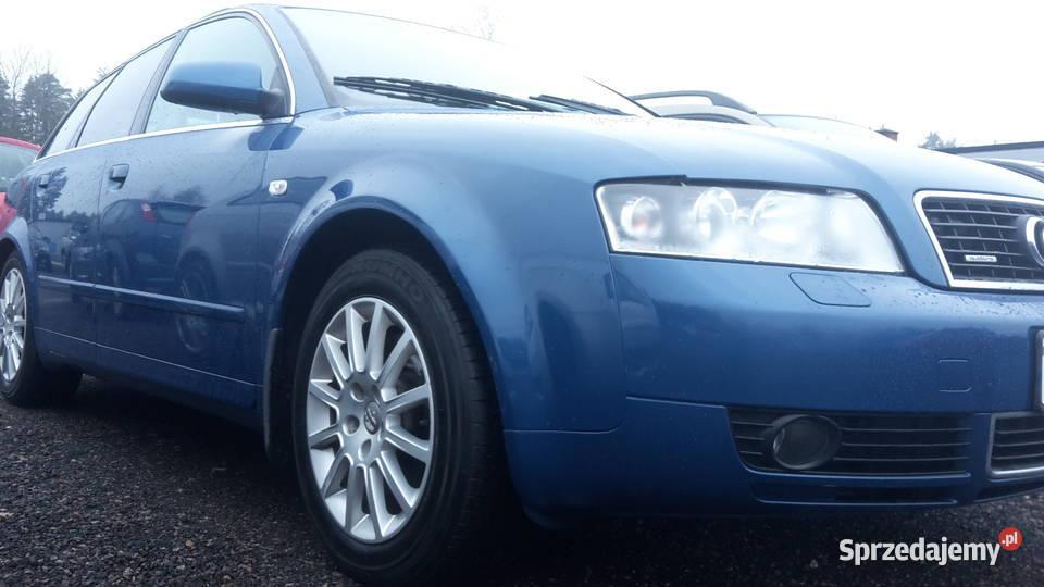 Audi A4b6 kombi quattro bez rdzy