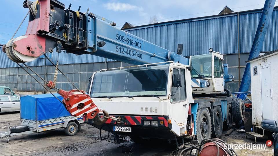 Syndyk sprzeda - Żuraw Samochodowy typu FAUN RTF 40-