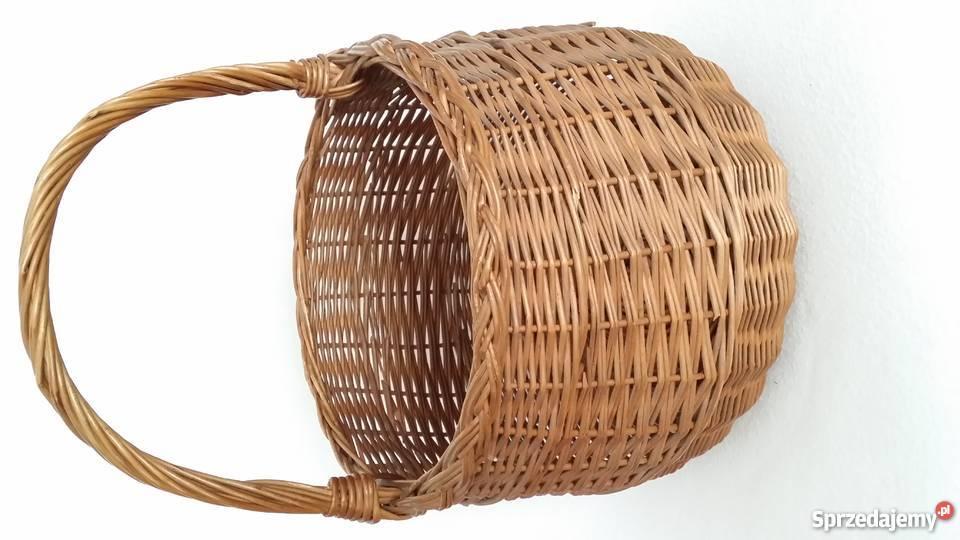 cf56e1863b5f4c koszyki wiklinowe na zakupy - Sprzedajemy.pl