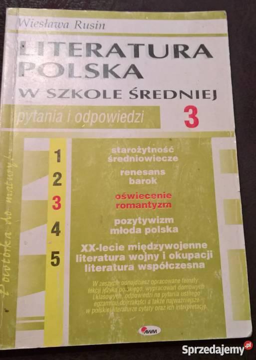 Literatura współczesna Wrocław sprzedam