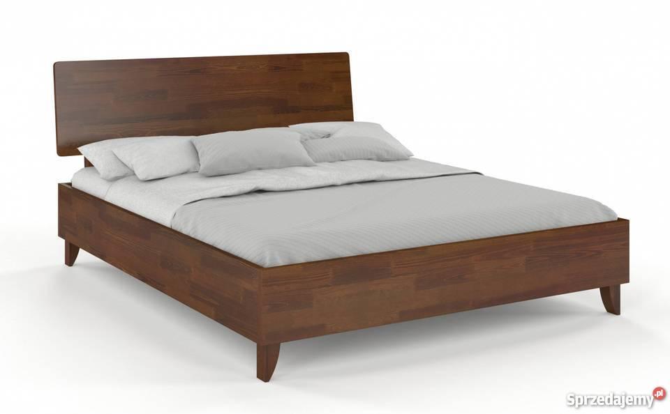 łóżko Drewniane Sosna 120x200 Vive Sypialnia