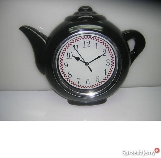 Zegar kuchenny dzbanek ścienny wiszący do kuchni śląskie Katowice sprzedam