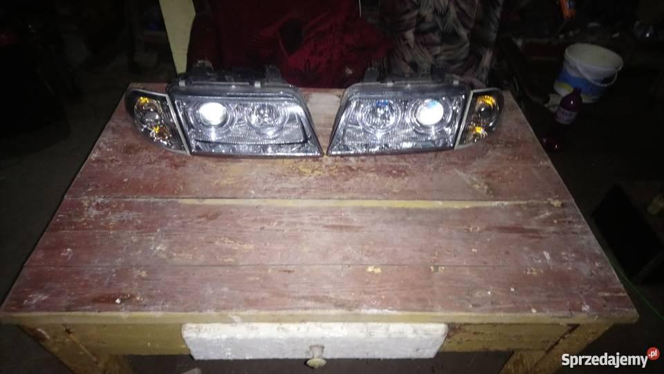 Lampy Audi A4 B5 95 98r Angel Eyes Ringi Depo Chr