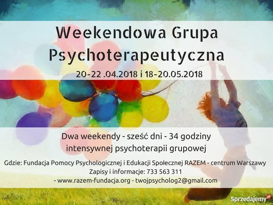 Weekendowa Grupa Psychoterapeutyczna Warszawa