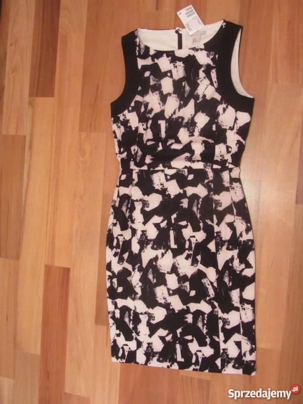 6af3566a5c HM nowa sukienka z metkami nienoszona XSS 34 36 kolorowy sprzedam