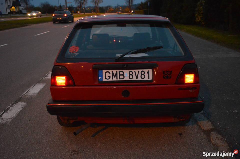 GOLF MK2 13 5biegowy Sportowy / Coupe Malbork sprzedam
