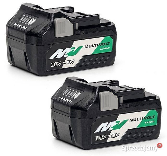 2x Hikoki Hitachi BSL1850 BSL36A18 MultiVolt