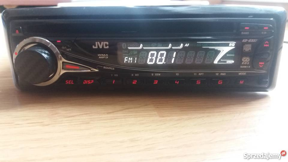 Radio samochodowe JVC kd-g332