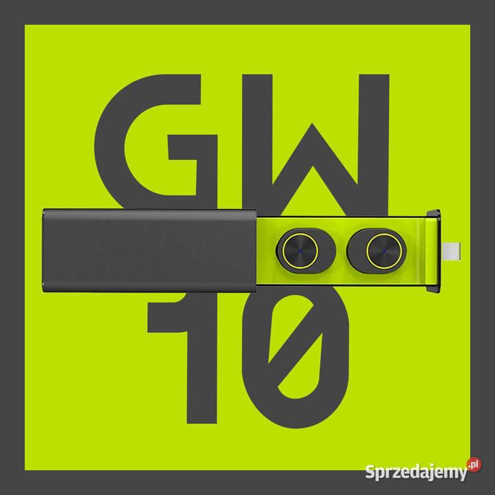 GW10 TWS nowe słuchawki bezprzewodowe bluetooth