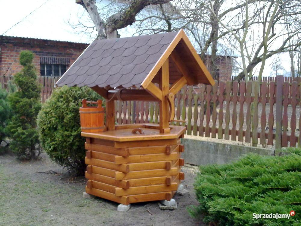 Studnia ogrodowa ozdobna Lubliniec
