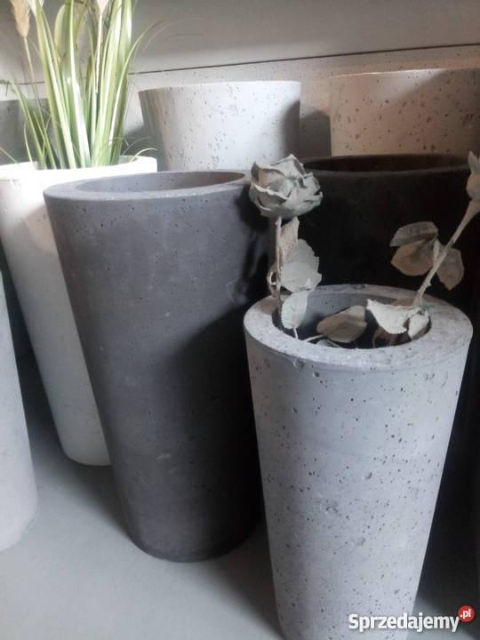 Ogromny donica z betonu - Sprzedajemy.pl DY45