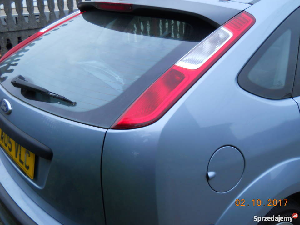 Bardzo dobry ford focus mk2 czesci klapa tył,lampy,drzwi,kod Z3 Lipno NC67
