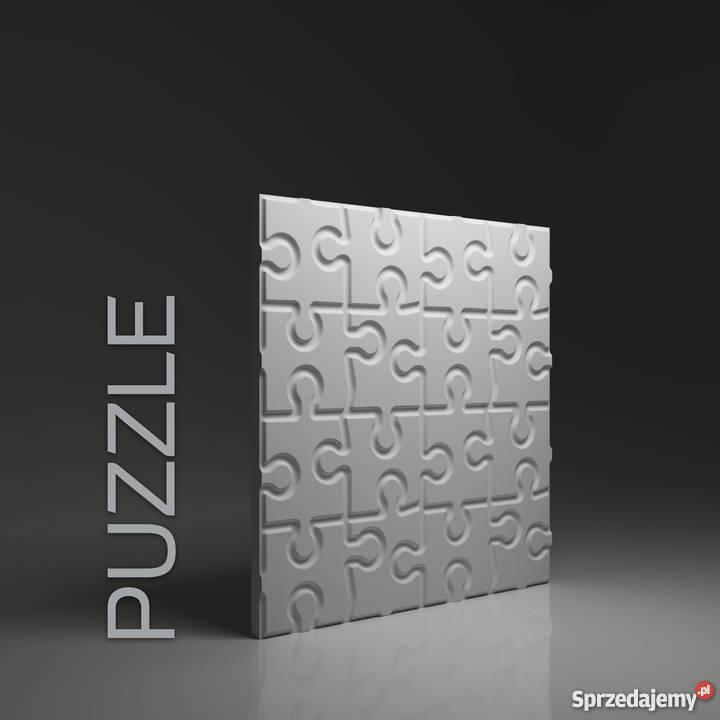 Panel ścienny 3d Puzzle Panele Gipsowe Dekoracyjne Hit