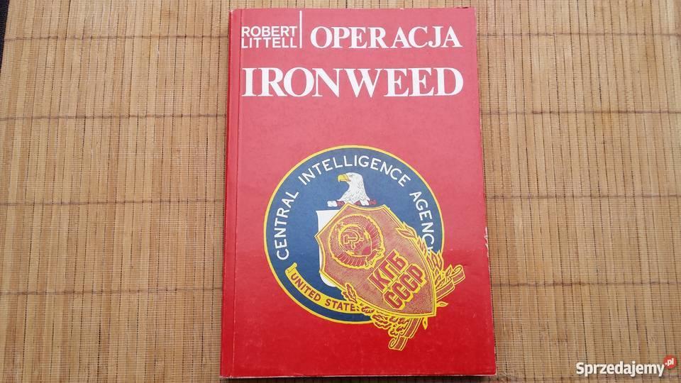 Książka Robert Littell Operacja Ironweed Warszawa