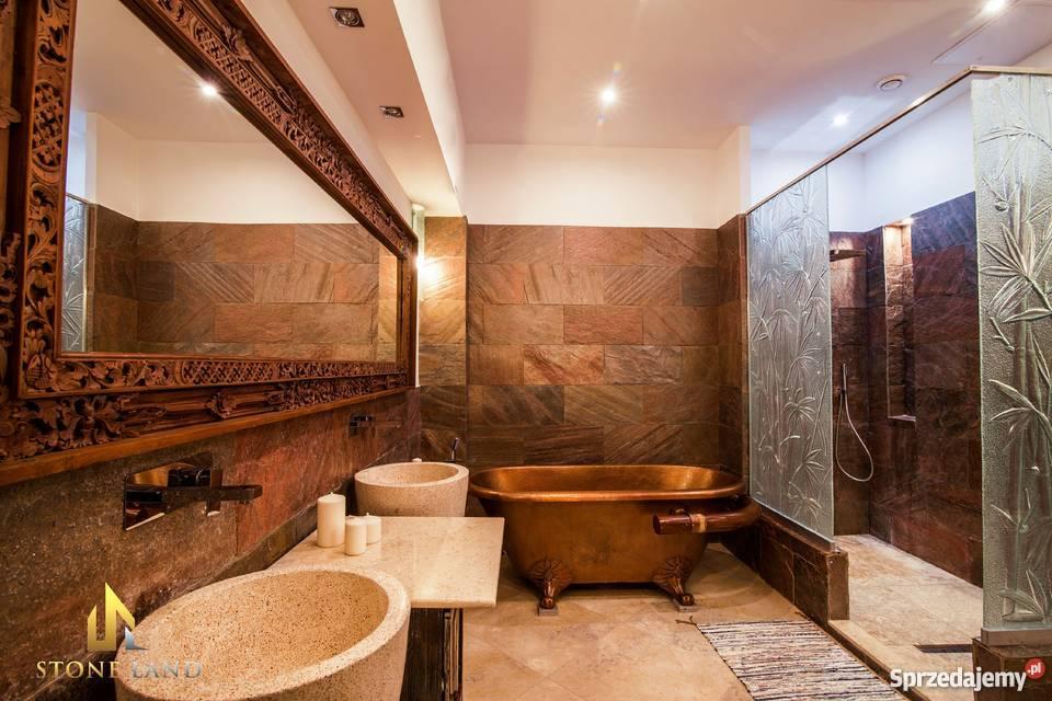 Luksusowe Płytki Kamienne Copper 30x60x12cm Do łazienki