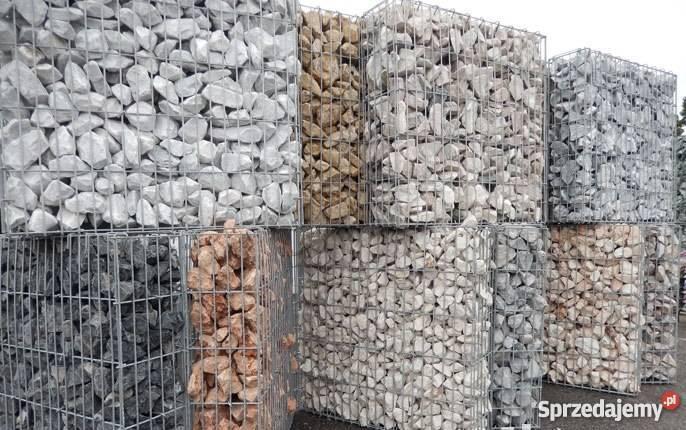 Zaktualizowano Kamien Gabion Gabionowy GaBiony ogrodzenie Płot łupek granit Bełk WY23