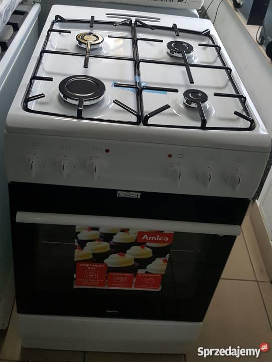 Outlet Agd Kuchnia Gaz Elektryczna Amica 510gem233zp W Wa