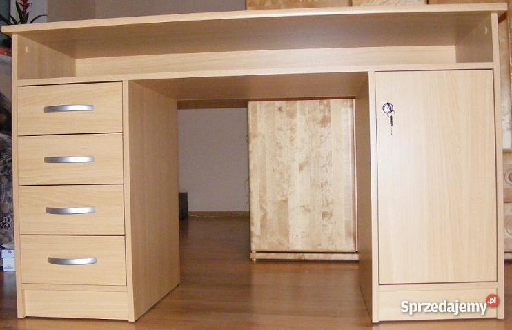biurko z szafką i szufladami Nowe Miasto Lubawskie sprzedam