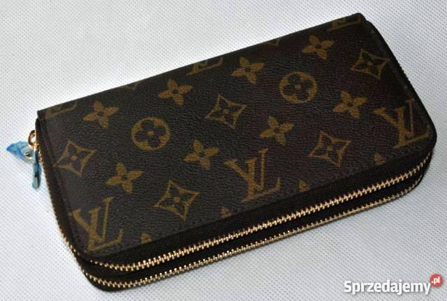 a76382f02a282 Duży poręczny dwukomorowy Portfel LV Louis Vuitton Wołomin ...