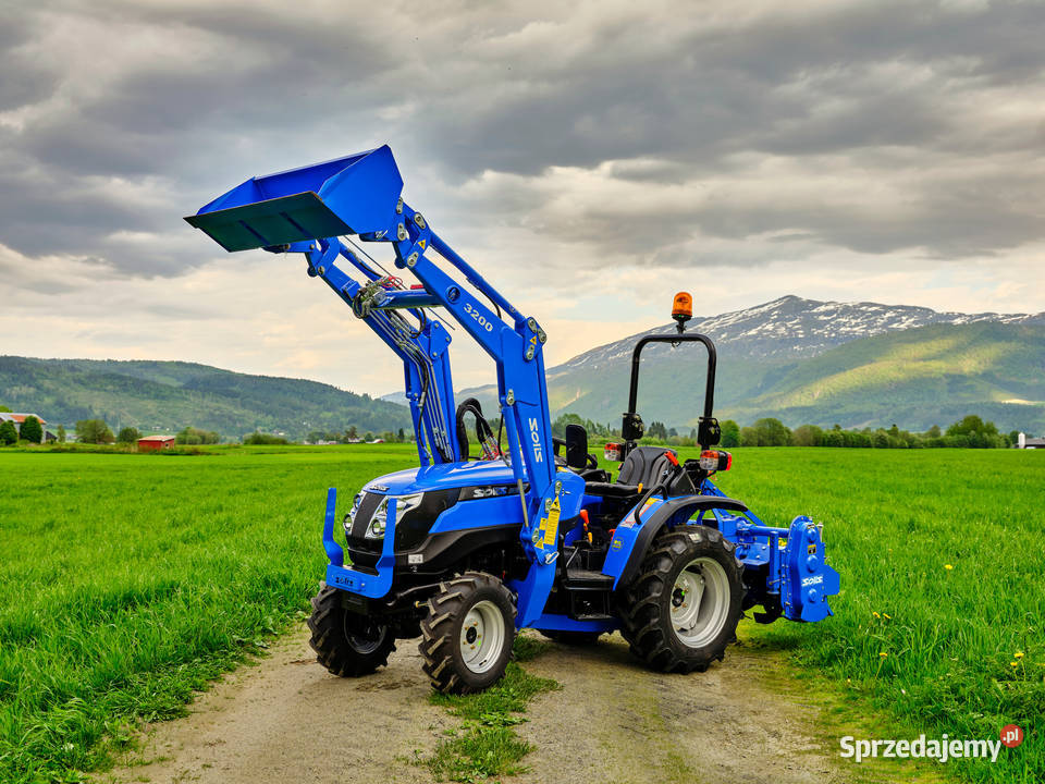 Solis 26 4WD - Ciągnik sadowniczy / komunalny / uniwersalny