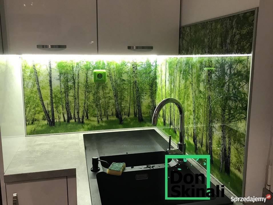 Panele Dekoracyjne Do Kuchni Na Wymiar Szkło Hartowane