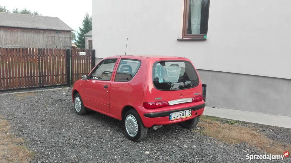 Fiat Seicento LPG stan salon Lublin PT i OC na Łęczna
