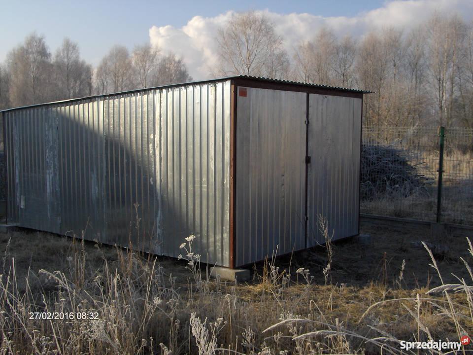 Garaż 3x5  z transportem i montażem