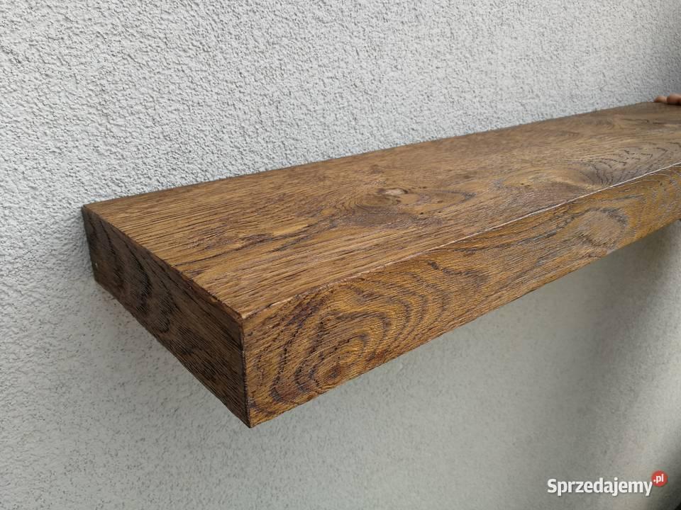 półka na ścianę bez widocznych mocowań