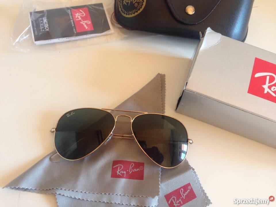 oryginalne okulary ray ban aviator